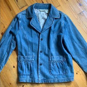 J. Jill Denim Jacket Size M